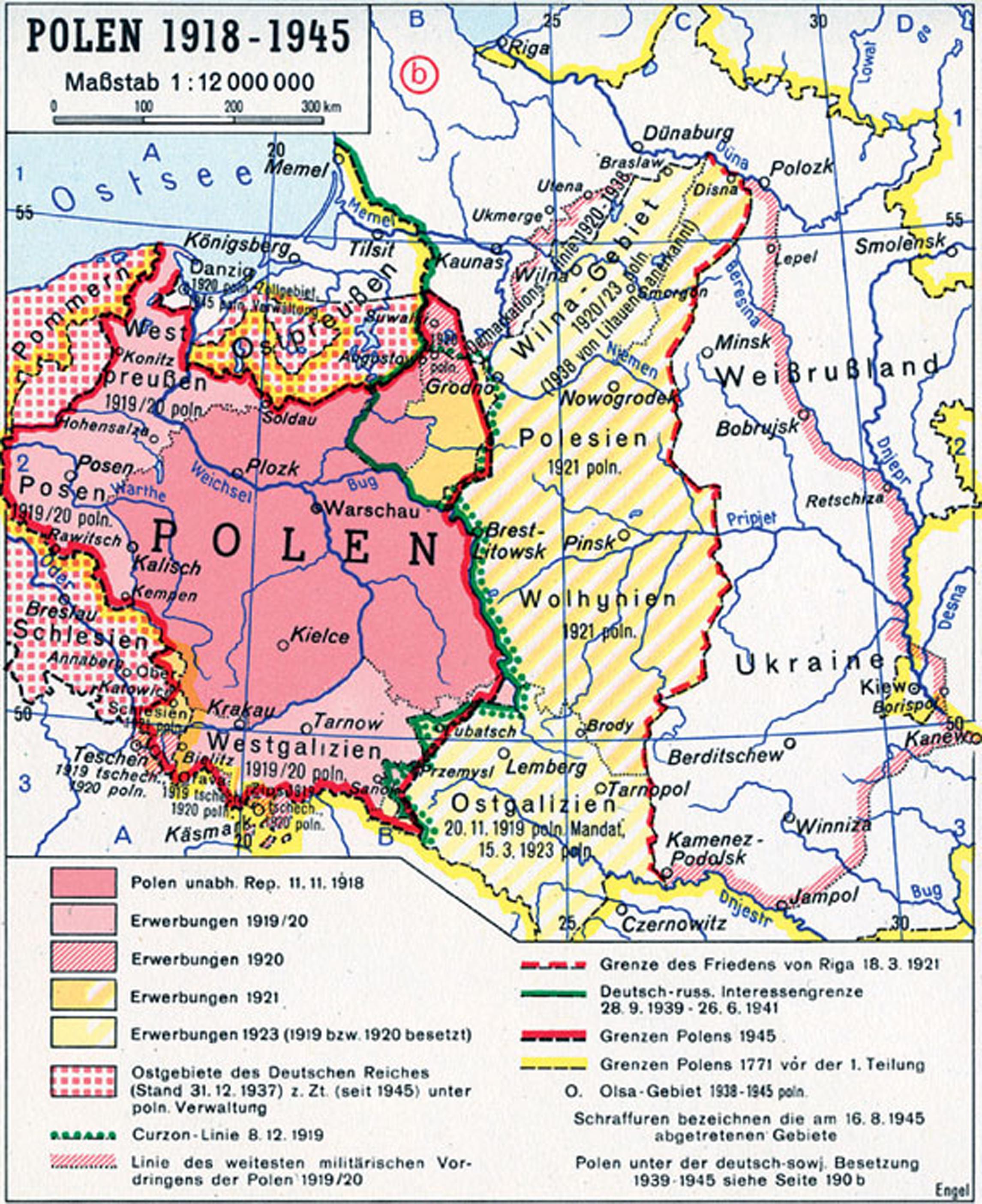 Deutschland 1918 1939 Geographische Hinweise Aus Historischer Sicht